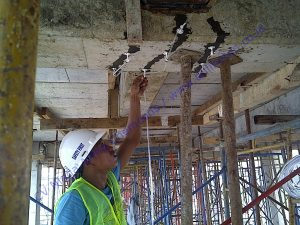 memperbaiki beton retak pada gedung