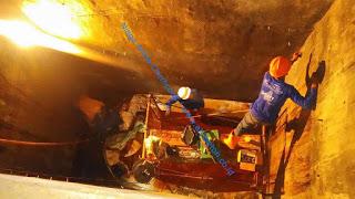 perbaikan bocor penampungan air