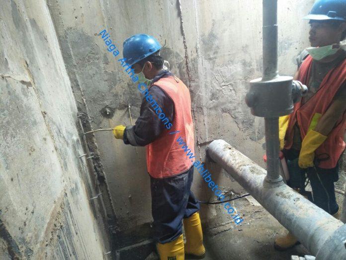 perbaikan kebocoran pipa